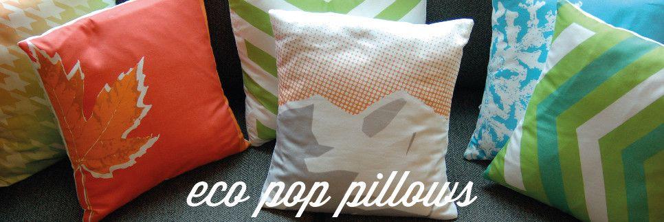 sugarloph - eco pop pillows