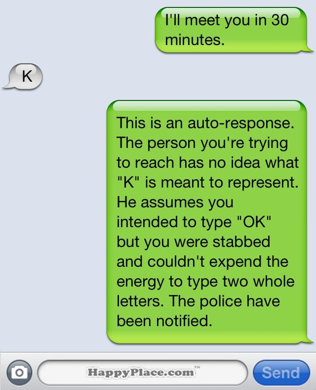 Silly text messages to send