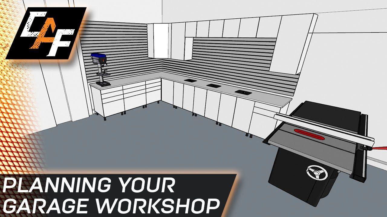 Fast And Easy Planning Garage Workshop Caraudiofabrication Garage Design Shelving Design Garage Decor