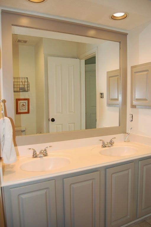 Bathroom Benjamin Moore Rockport Gray On The Cabinets And Mirror Trim Bm White Dove On The