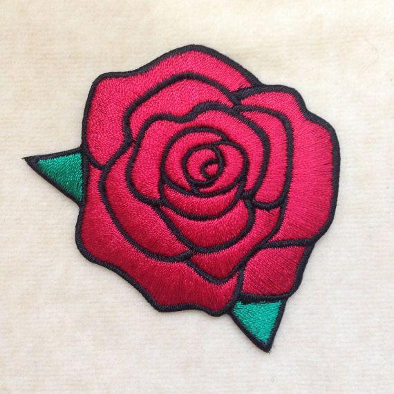 5,5 x 5,5 cm Rose mauve APPLIQUE THERMOCOLLANTE ÉCUSSON PATCH COEUR VITRAUX