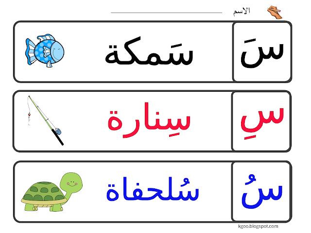 رائع اوراق عمل لتعليم كتابة حرف السين للاطفال Arabic Alphabet For Kids Arabic Alphabet Letters Alphabet For Kids