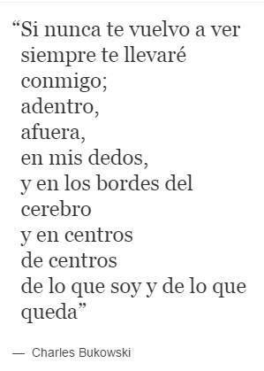 Poemas De Charles Bukowski Sobre El Amor Charles Bukowski We Heart It Amor Poemas And Miedos