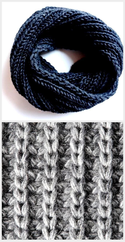 Photo of Anleitung: Einfach einen grauen Loop-Schal stricken,  #Anleitung #einen #einfach #grauen #Loo…