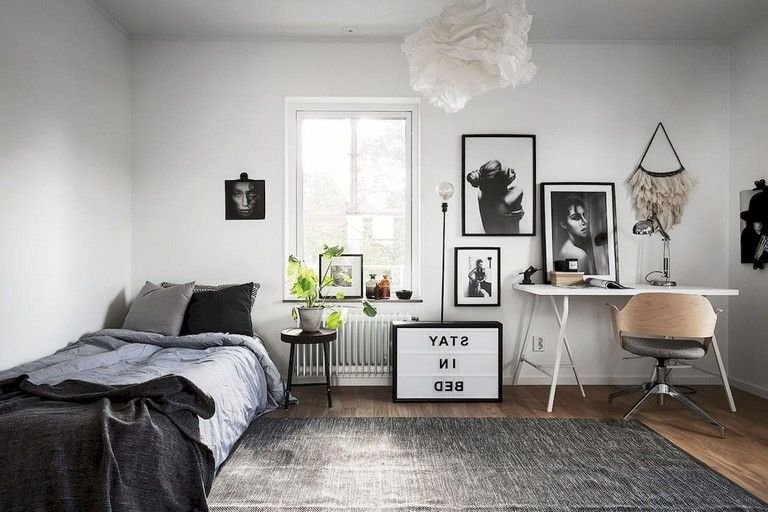 55 Awesome Studio Apartment With Scandinavian Style Ideas On A Budget Home Decor Apartment Furniture Rustic Bathroom Decor Two bedroom apartment in scandinavian