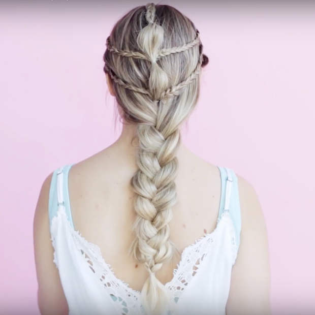 Mermaid Hairstyles 5 Braided Hairstyle Tutorials That Will Give You Majestic Mermaid