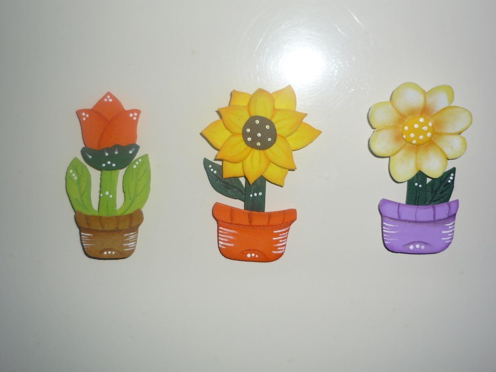 flores en foami paso a paso - Buscar con Google | Manualidades, Flores en  foami y Manualidades día de las madres