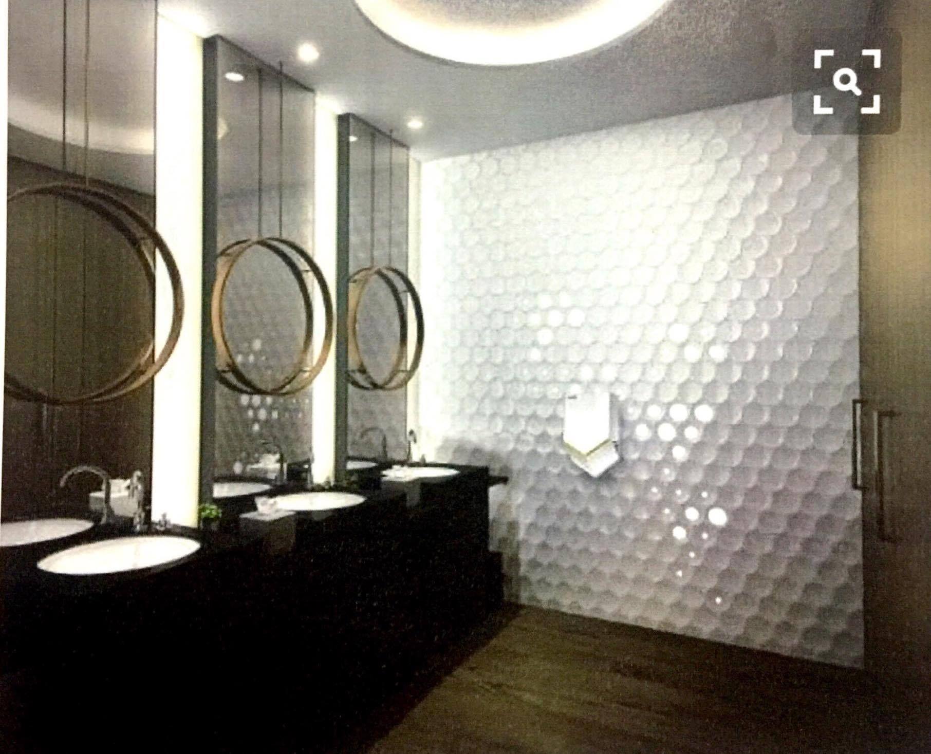ป กพ นโดย Interior ใน Toilet ตกแต งภายใน ห องน ำ