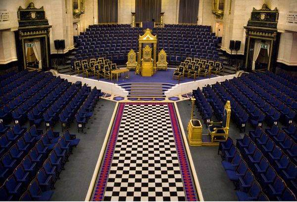 The Freemasons Hall, home of The United Grand Lodge of England: Uncovering  a few hidden treasures | Masonic lodge, Masonic, Freemason