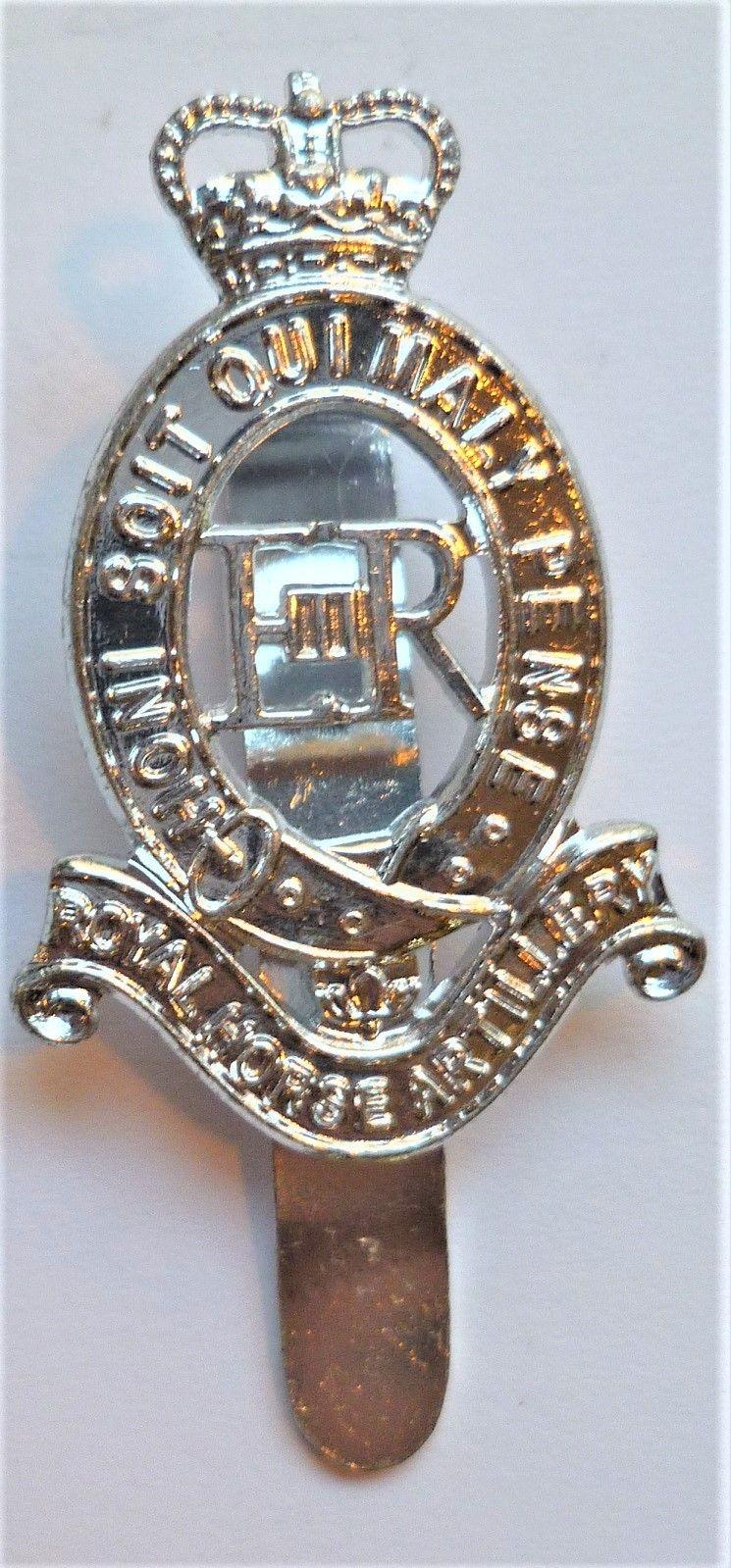 Royal Horse Artillery Staybrite Cap Badge British Army