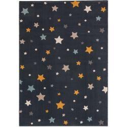 Photo of benuta Kinderteppich Juno Blau 120×170 cm – Kinderteppich mit Sternen benuta