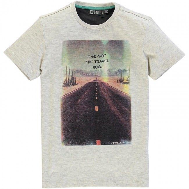 Tumble n Dry - T-shirt Antal grijs