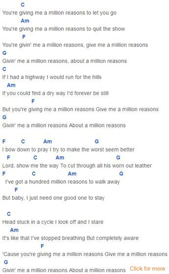 Million Reasons Chords Lady Gaga Music Pinterest Lady Gaga