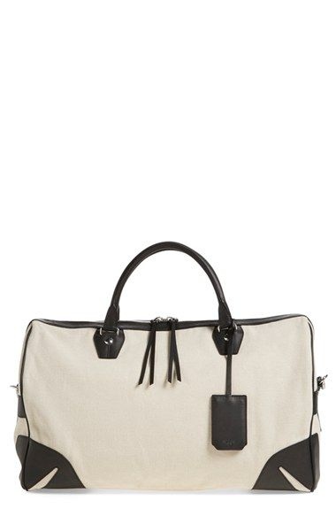 5df48dec84 rag   bone  Flight  Canvas Duffel Bag available at  Nordstrom ...