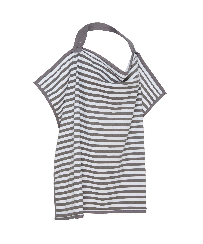 53555c350b4d4 Mothercare Striped Breastfeeding Shawl | breastfeeding shawl