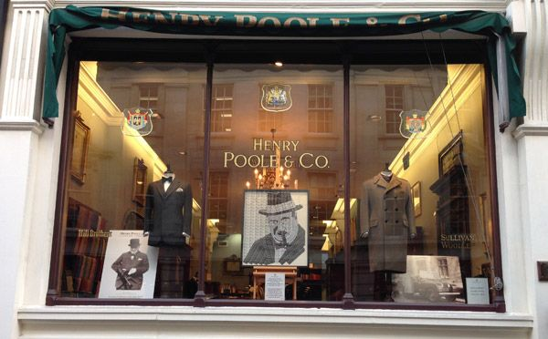 Henry Poole & Co - Size 46 - Retail Focus - Retail Blog For Interior Design and Visual Merchandising