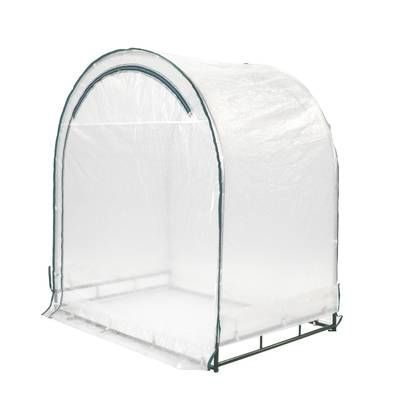 Ogrow Two Door WalkIn Tunnel Greenhouse With Ventilation Windows And Steel Frame  OGrow 6 Ft W x 15 Ft D Greenhouse  Reviews  Wayfair