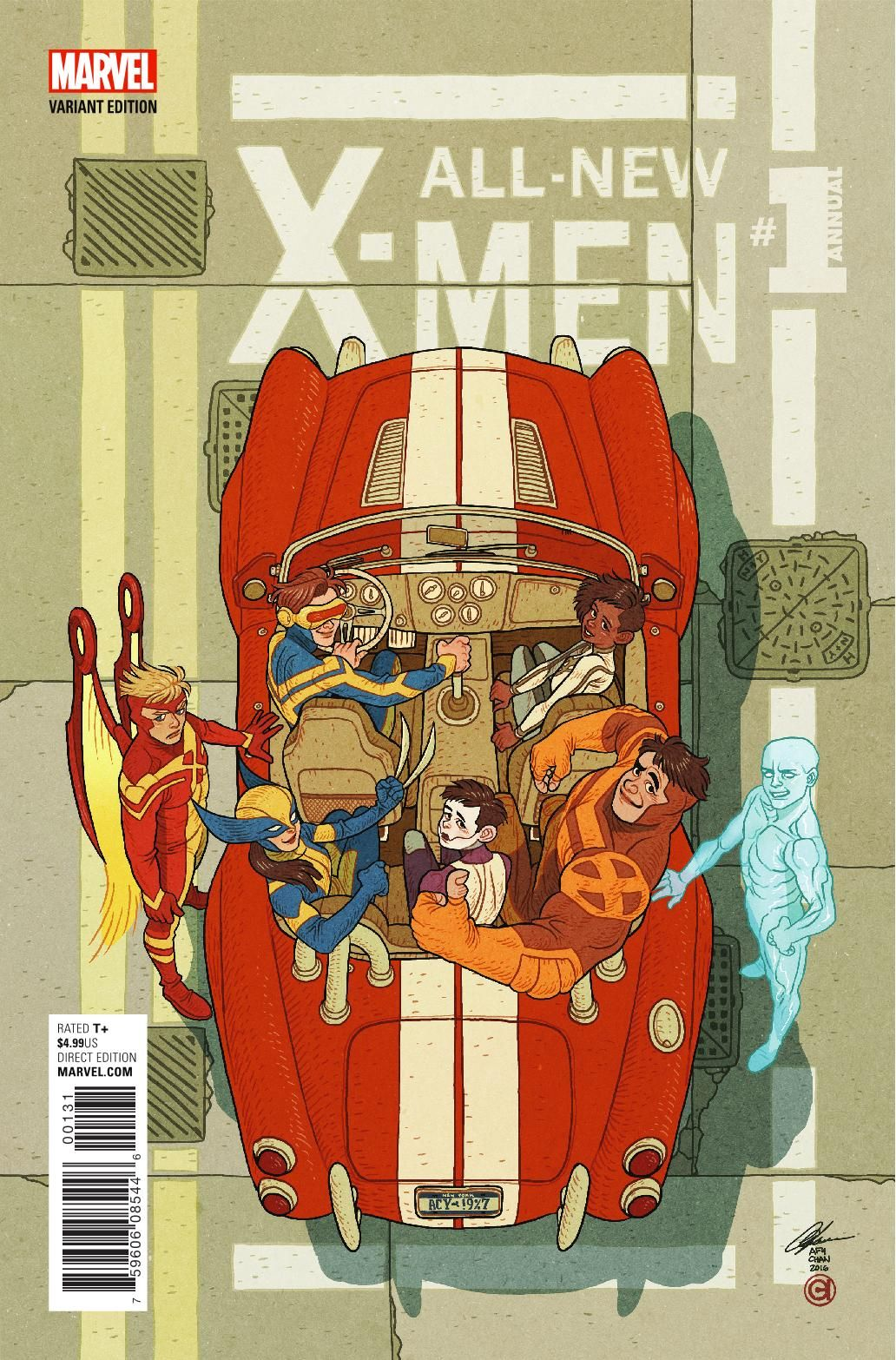 Preview All New X Men Annual 1 Story Sina Grace Rex Ogle Art Cory Smith Cover Cory Smith Publisher Marv Marvel Comics Covers Illustration Comic Artist