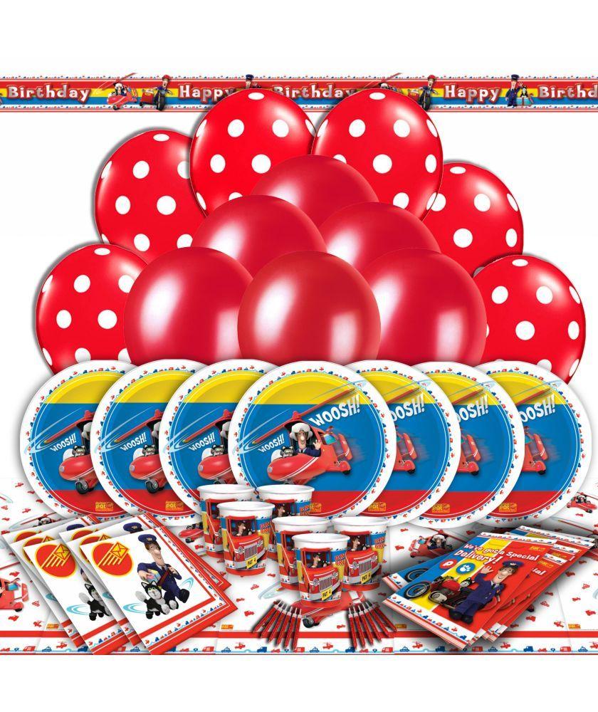 Buy Postman Pat Party Kit For 16 At Argoscouk