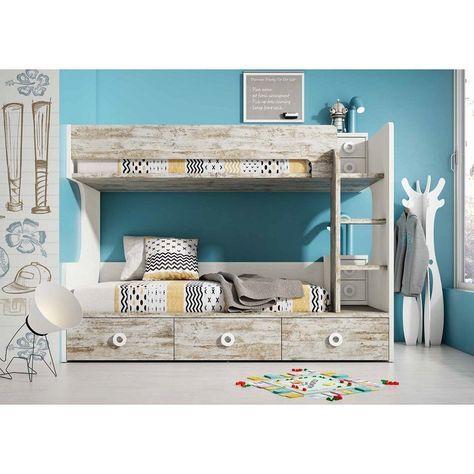 Vintage decoraci n literas modernas literas y literas for Muebles pepe jesus dormitorios juveniles