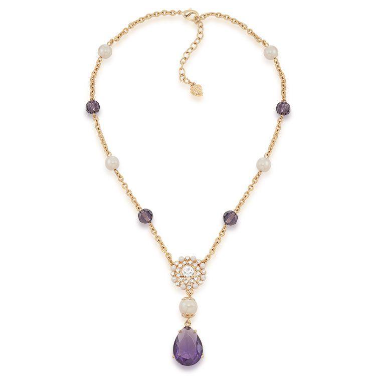 Purple Haze Y Necklace
