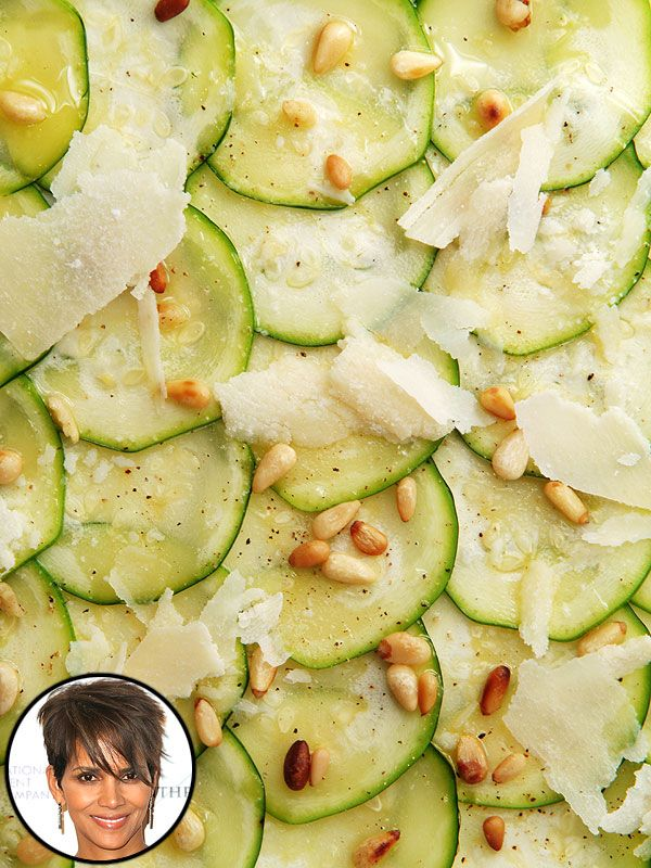 Halle berry s delicious mother s day dish zucchini - Halle d entree ...