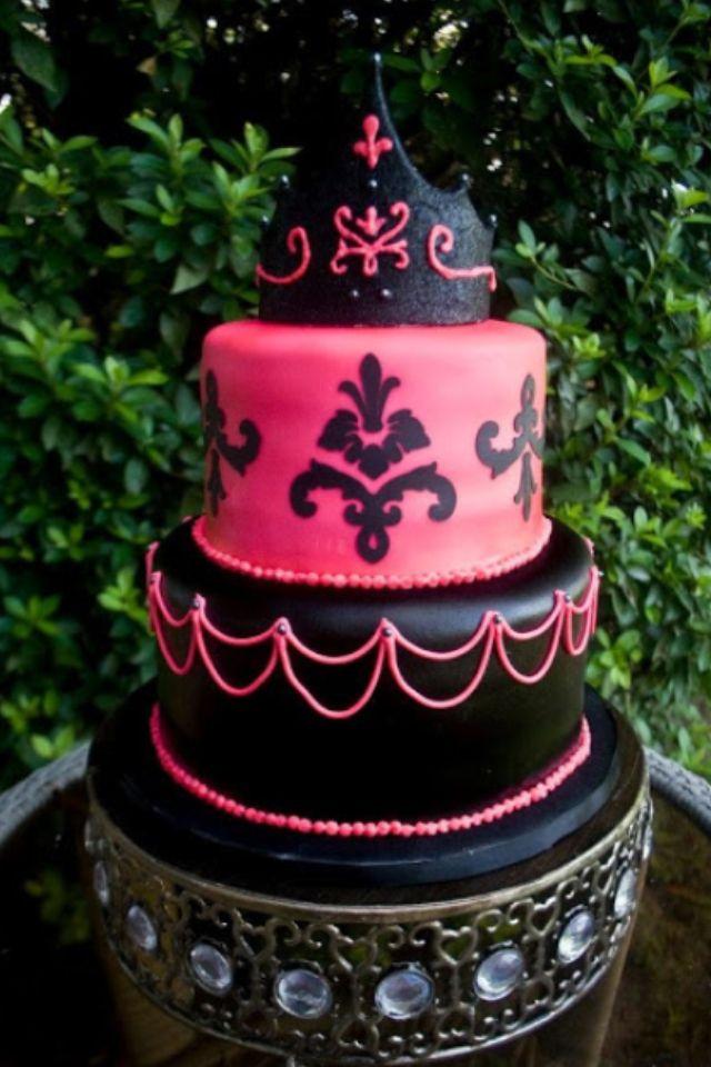Girls 13th birthday cake Cakes Pinterest 13th birthday cakes
