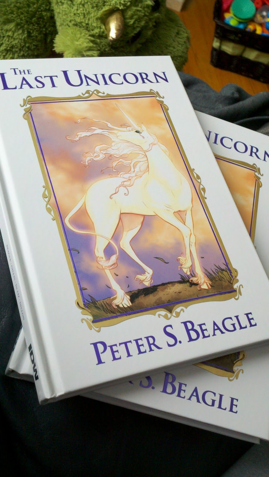 The Last Unicorn Graphic Novel Version Peter S Beagle One Of My