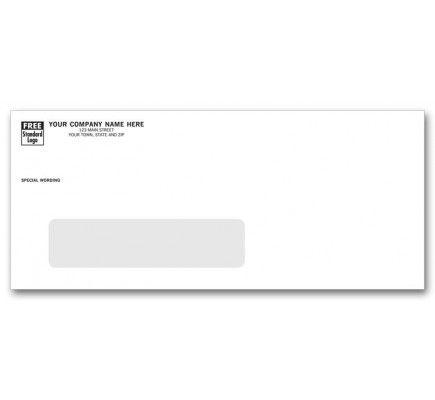 10 Large Single Window Envelopes 10wcc Business Envelopes Window Envelopes Free Company Logo