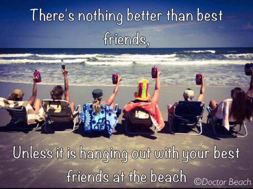 Nothing better than best friends, unless it\'s hanging out ...