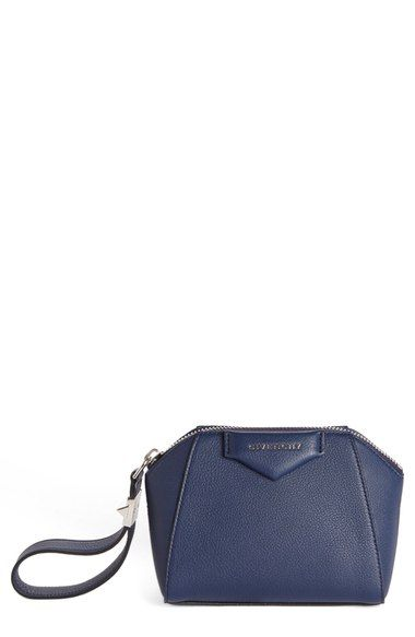 Givenchy Antigona Leather Zip Pouch Available At Nordstrom