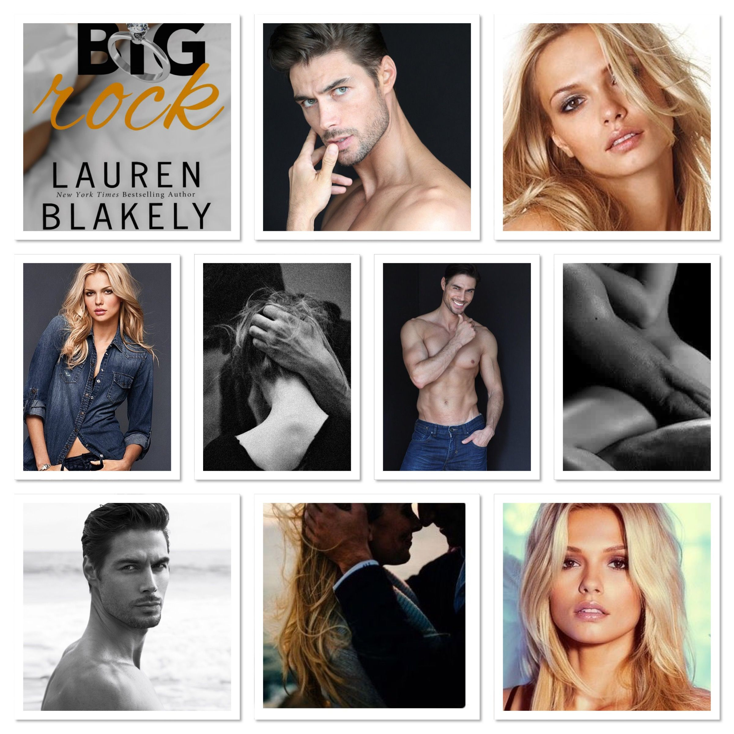 Big Rock by Lauren Blakely | Character inspiration, Favorite books, Dream casting