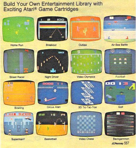 Atari games | Atari video games. Nerd games. Atari games