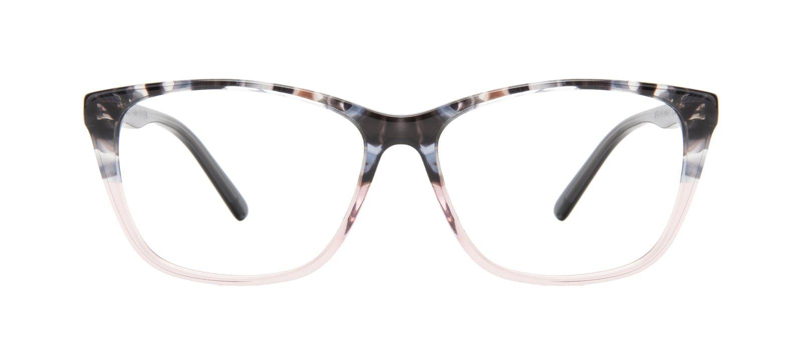 8e93796e0771 Affordable Fashion Glasses Cat Eye Rectangle Eyeglasses Women Myrtle  Carbone Pink Front