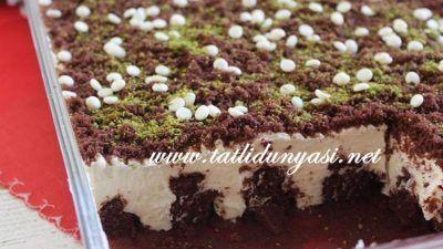 Krema Dolgulu Kek | Tatlı Dünyası