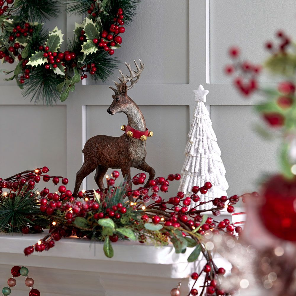 Christmas 2020 Traditional Collection In 2020 Christmas Garland Christmas Decorations Christmas Lookbook