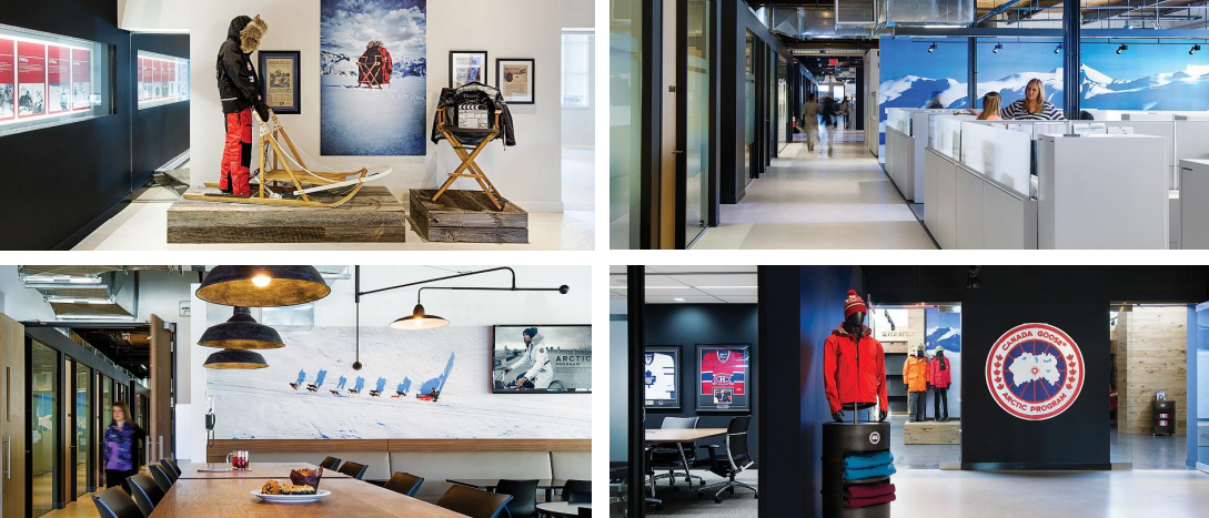 canada goose headquarters toronto address