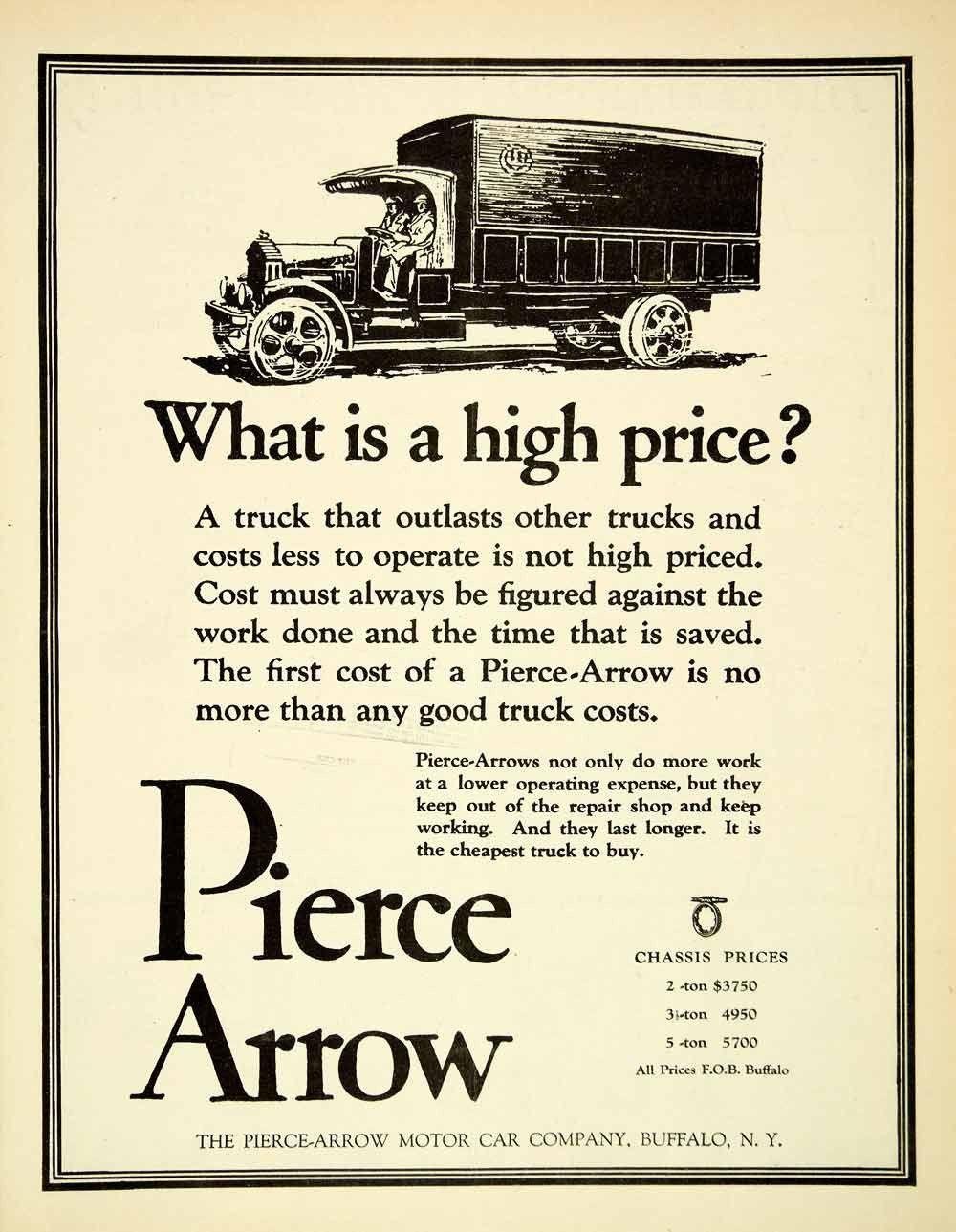 1921 Ad Pierce Arrow Cars Automobiles Trucks Buffalo New York Chassis Sca4 Arrows Car Trucks Vintage Trucks