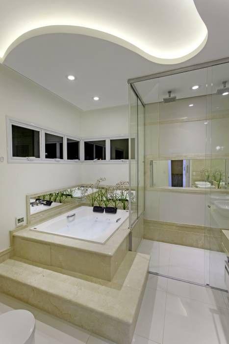 Residencia Am De Isabela Canaan Arquitetos E Associados Banheiros Modernos Casas De Banho Modernas Projeto Do Banheiro