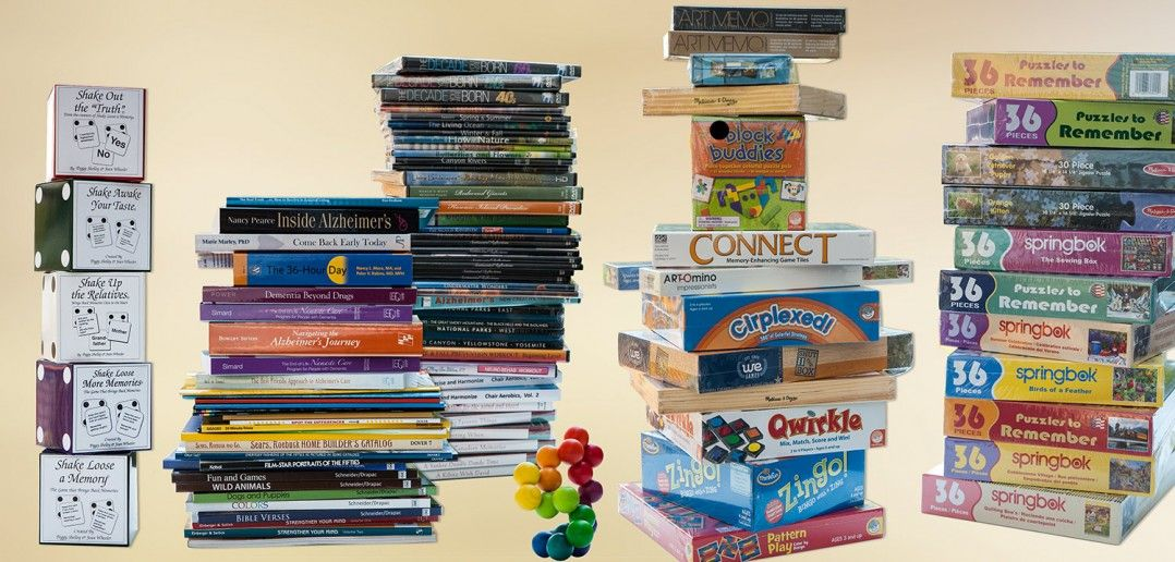 Alzheimer's Store Alzheimers games, Brain games for