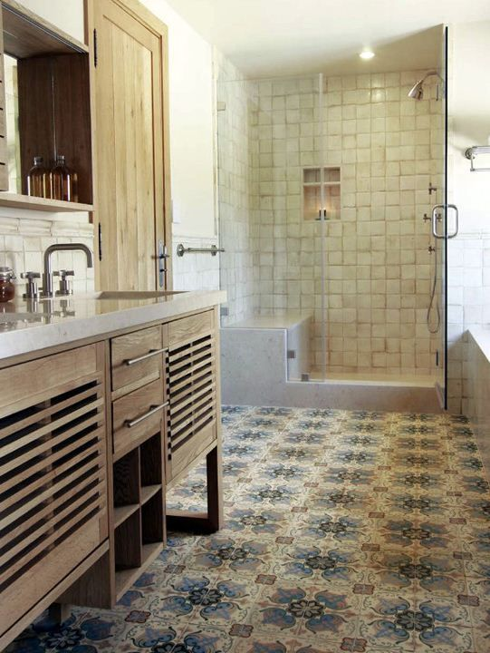 Spanish look floor tiles for bathroom home ideas - Spanish floor tile designs ...