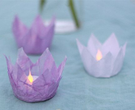 Diy Candle Holders For Candle Impressions Flameless Tea