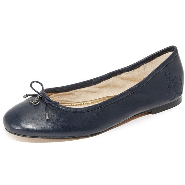 Pre-owned Ballerinas (89.420 HUF) liked on Polyvore