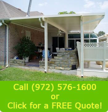 Incroyable Patio Covers Dallas Texas  We Install Aluminum Patio Covers And Carports In  The DFW Area. These Aluminum Patio Covers Have Built In Gutter Systems And  Wire ...