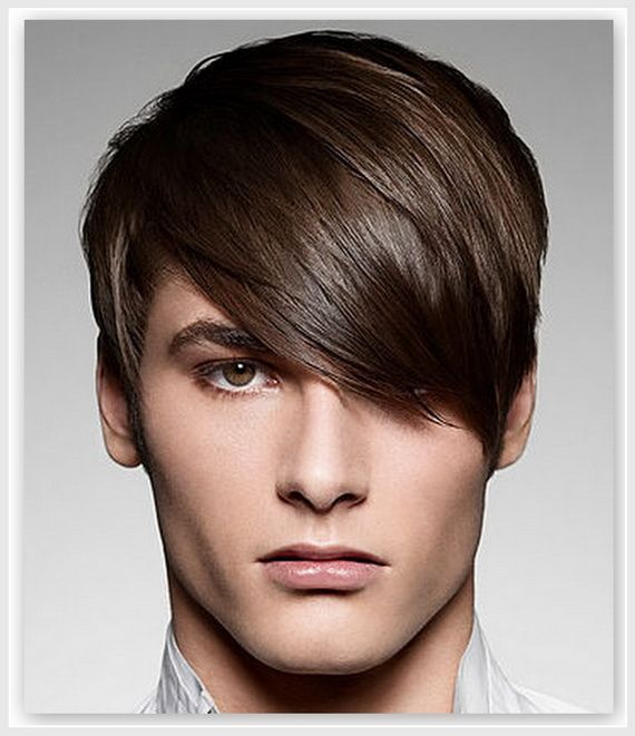 Cool Men S Haircut Love How The Longer Hair Is Pushed Over The Shorter Hair Underneath Mens Hairc Emo Hairstyles For Guys Hair Wigs For Men Boy Hairstyles