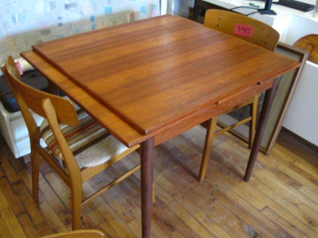 Cool Antique Hidden Leaf Dining Table