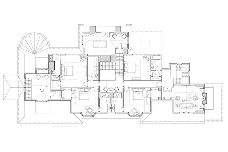 I Pinimg Com Originals 91 C5 Be 91c5bead0fae5a41e0d9e7bdf7b2432d Jpg Architectural Floor Plans Shingle Style Luxury House Plans