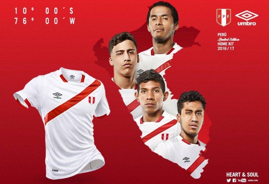 new peru 2017 centennial copa america jersey launched