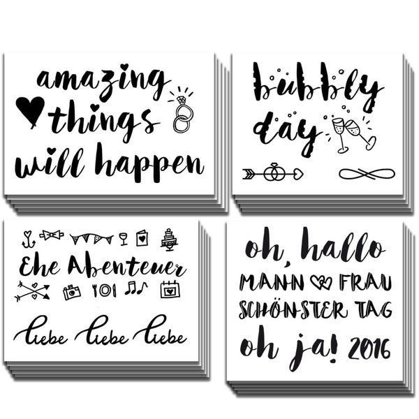 andcompliments.com, &compliments, Tattoos, Temporäre Tattoos, Party, Junggesellinnen Abschied, JGA Abend, Hen Party, Zukünftige Braut, Beste Freundin, BFFS, Mädelsabend, Hochzeitstattoo, Bridal Party, Wedding Fun