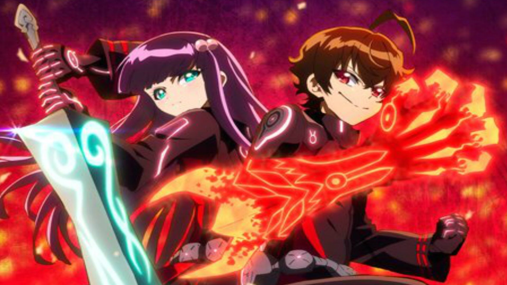 Review Twin Star Exorcists Episode 1 The Destined Two Boy Meets Girl Geeks Under Grace Twin Star Exorcist Anime Boy Meets Girl